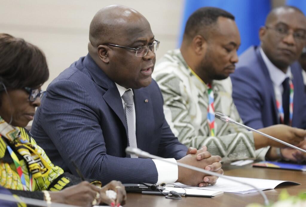 """Rais wa DRC Félix Tshisekedi alitangaza mashauriano kwa nia ya """"umoja wenye kudumu""""."""