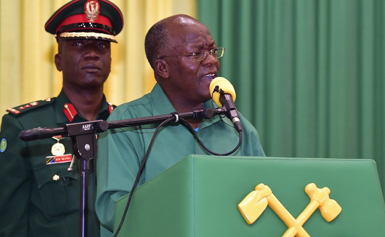Shugaban kasar Tanzania John Magufuli