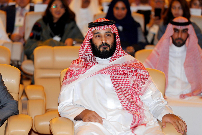 Thái tử nối ngôi Ả Rập Xê Út Mohammed Ben Salman tại Riyad, ngày 24/10/2017.