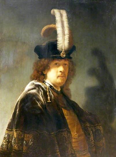 Bức tranh chân dung do Rembrandt tự vẽ