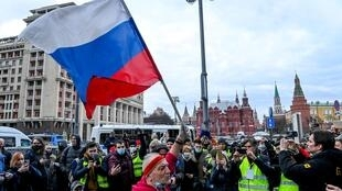 In Russia, participation in unauthorised demonstrations can lead to a fine or several days in jail