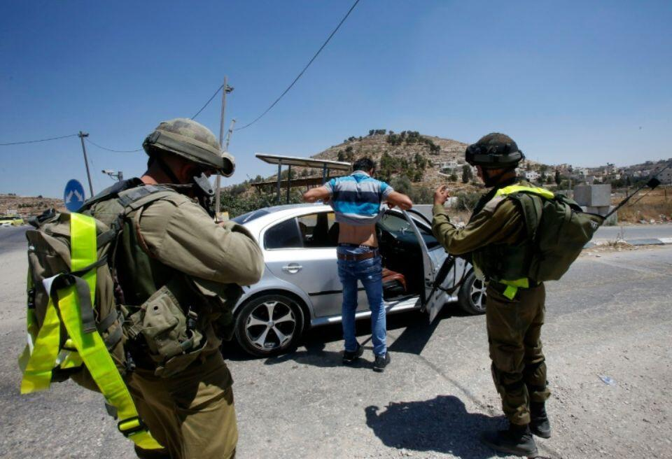 在执行任务的以色列军方