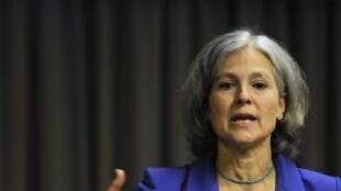 Jill Stein sera très vraisemblablement la candidate du Parti vert (écologiste) à l'élection présidentielle américaine. Elle espère recueillir les voix des électeurs de Bernie Sanders, concurrent de Hillary Clinton dans la primaire démocrate.