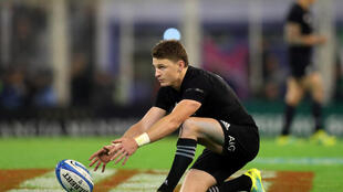 Fly-half Beauden Barrett was one of the stars of the All Blacks victory over Australia.