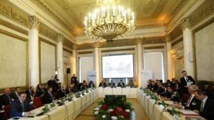"""Hội nghị """"Cùng nhau quản lý nhập cư"""" của Áo và các nước Balkan, tại Vienna, ngày 24/02/2016"""