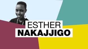 Esther Nakajjigo créatrice de Saving Innocence Challenge, une émision de télé-réalité pour les droits des femmes
