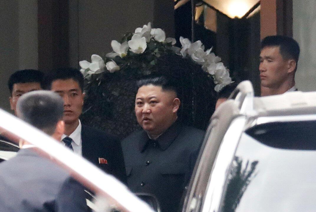圖為朝鮮領袖金正恩2019年3月1日順訪特金會後越南河內。