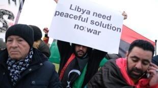 Conferência internacional de Berlim sobre a paz na Líbia