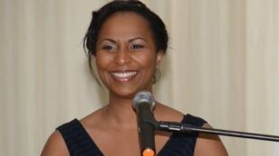 Yasmina Ouegnin, députée ivoirienne.