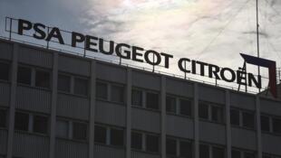 2021-06-10 automotive cars PSA Peugeot Citroen factory Mulhouse France