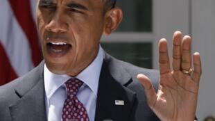Barack Obama durante anúncio de novas medidas sobre a imigração nessa sexta-feira.