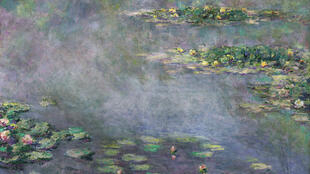 One of Monet's series Nymphéas (Water Lilies)