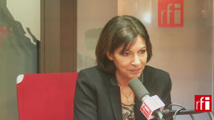 Anne Hidalgo, candidata socialista à prefeitura de Paris.