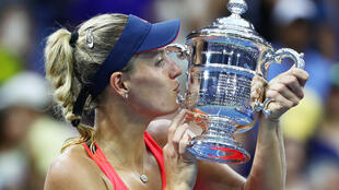L'Allemande Angelique Kerber remporte l'US Open 2016.