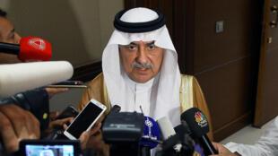 ابراهیم بن عبدالعزیز الاسعاف وزیر امور خارجۀ عربستان