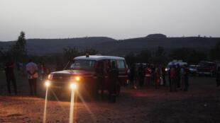 Gari la kubeba wagonjwa la Umoja wa Mataifa nchini Mali