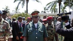 General António Indjai a 7 de novembre 2012 em Bissau.