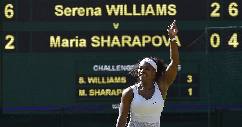 Serena Williams ta Amurka ta doke Maria Sharapova ta Rasha sau 17