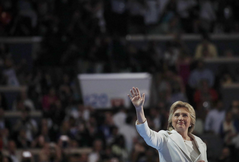 Hillary Clinton a accepté l'investiture démocrate le 28 juillet 2016 à la convention de Philadelphie.
