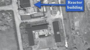 Photo satellite prise en mai 2009 du site nucléaire de Yongbyon en Corée du Nord.