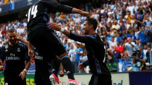 Mshambuliaji wa Real Madrid Cristiano Ronaldo.