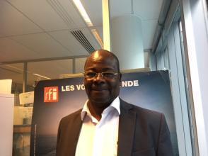 Venance Konan, journaliste et écrivain ivoirien.