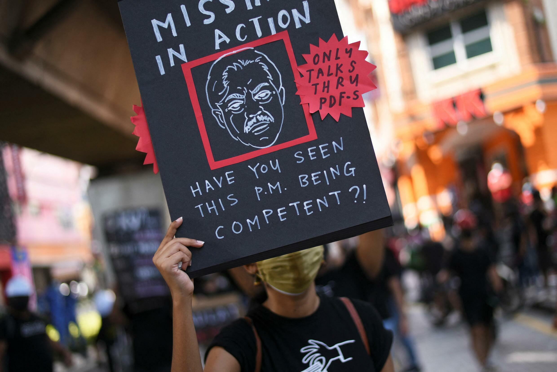 Rassemblements dans les rues de Kuala Lumpur