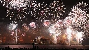 Dubaï, giao thừa đêm 31/12 qua ngày đầu năm mới 2014.
