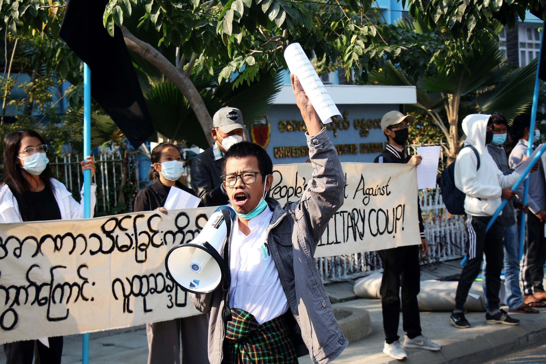 Opposants putsch militaire birmanie
