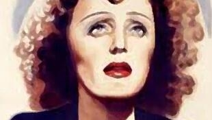 Edith Piaf ,grande figura da canção popular francesa