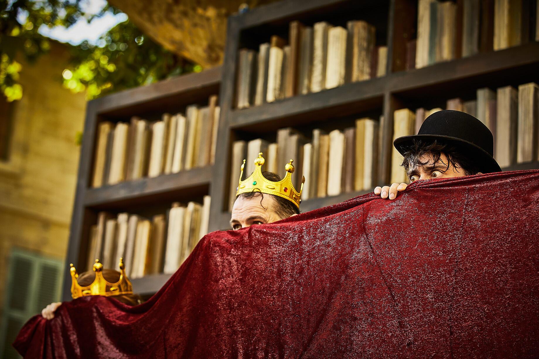"""Photo extraite de la pièce """"Hamlet à l'impératif"""" de Olivier PY"""