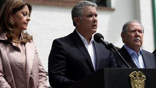 Iván Duque Shugaban kasar Colombia