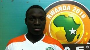 Le Nigérien Victorien Zakari Adebayor.