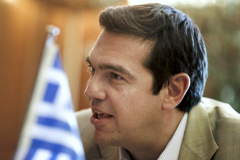 Глава правительства Греции Алексис Ципрас, 8 июня 2015.