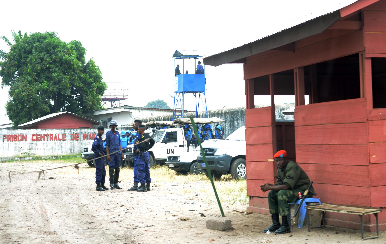 La prison de Makala, en RDC, à Kinshasa, où Ne Muanda Nsemi n'aura passé qu'une nuit après son arrestation jeudi 9 mai.