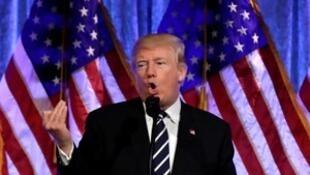 美国总统特朗普。2017-12-02