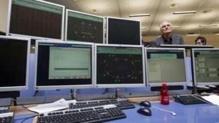 Le centre de contrôle du Cern en Suisse.
