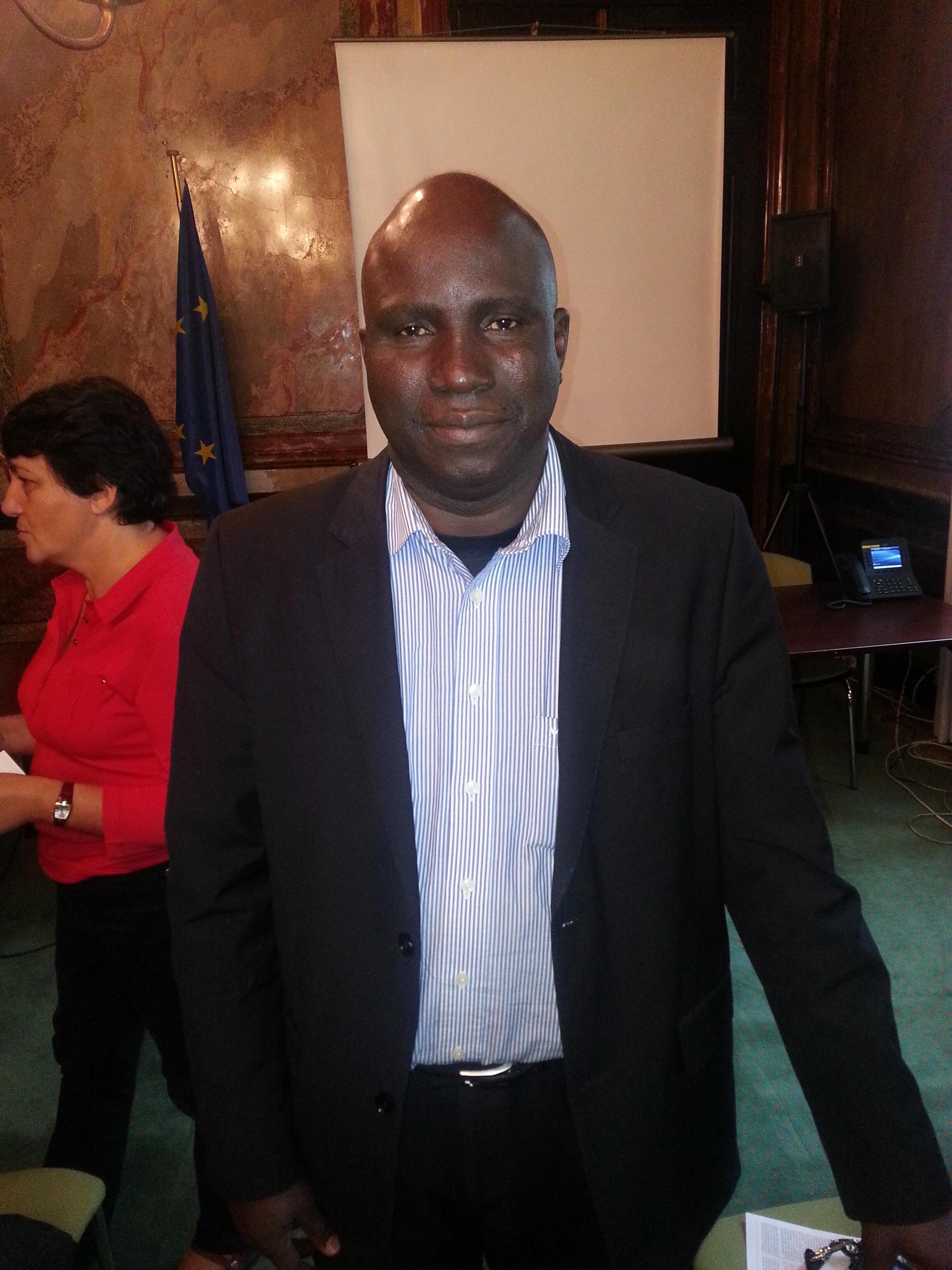 Salifou Ouédraogo, directeur Afrique de l'Ouest de l'ONG SOS-Sahel International.