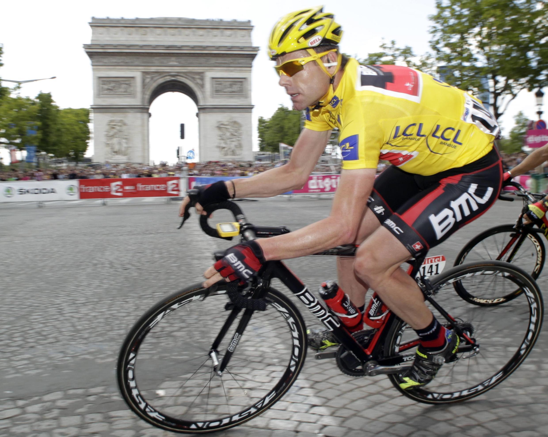 Australiano venceu a competição, que se encerrou no domingo na avenida Champs Elysées, em Paris.