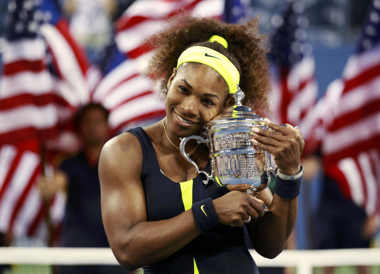 Venus Williams 'Yar kasar Amurka rike da kofin da ta lashe a gasar US Open bayan doke Azarenka ta Belarus