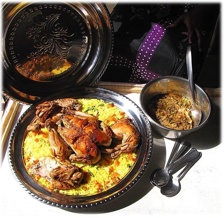 Un exemple de plat typique du Sénégal, le poulet yassa. (Image d'illustration)