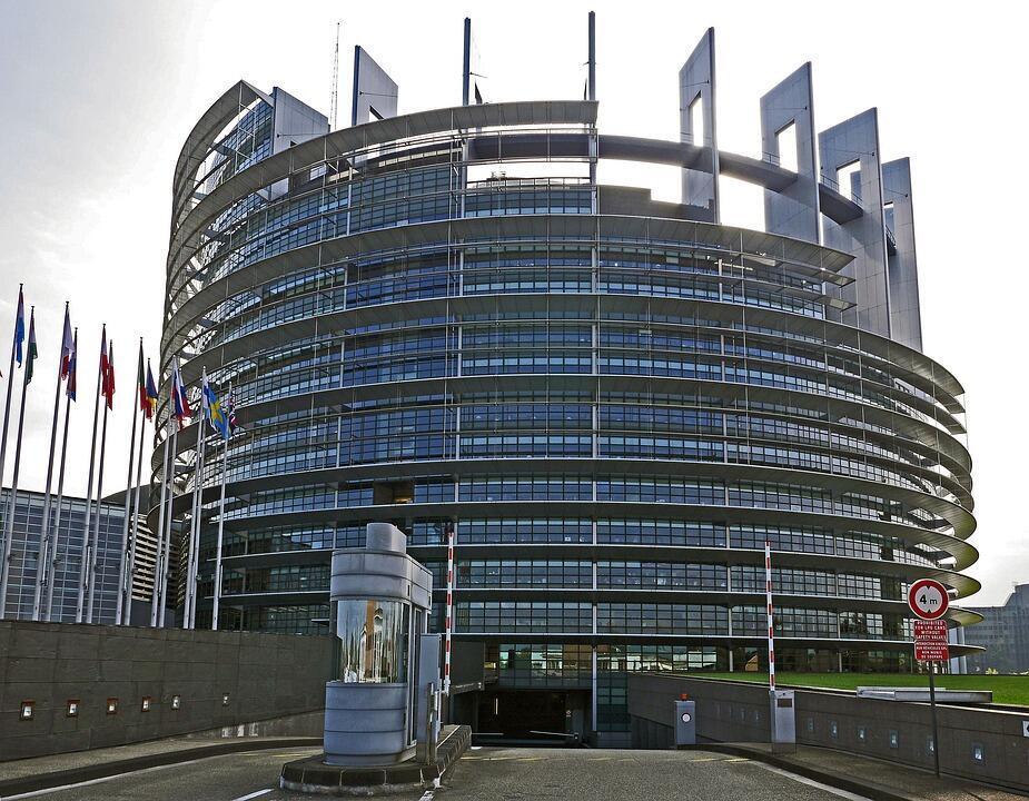 Trụ sở Nghị Viện Châu Âu, Strasbourg, Pháp.