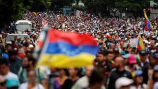 Wafuasi wa upinzani waendelea na maandamano wakimtaka rais Nicolas Maduro ajiuzulu.