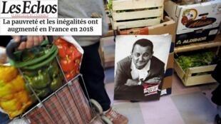 Na resenha da imprensa francesa desta quinta-feira destaque para a pobreza e a desigualdade que aumentaram na França em 2018.