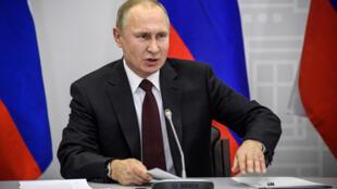 Shugaba Vladmir Putin na Rasha
