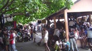 La prison de Lomé (illustration).
