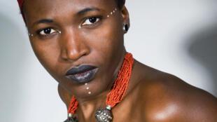 La chanteuse guinéenne Sayon Bamba.