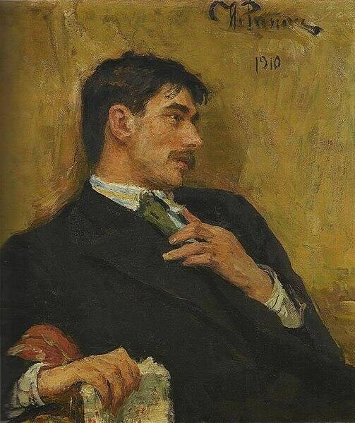 Кортней Иванович Чуковский, портрет И.Е.Репина.