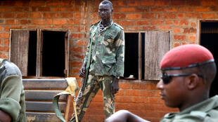 Members of the UPC militia in the CAR's Ouaka province in January