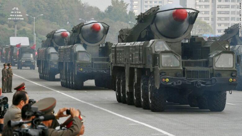 مراسم رژه ارتش کره شمالی